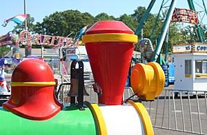 Train Ride at County Fair