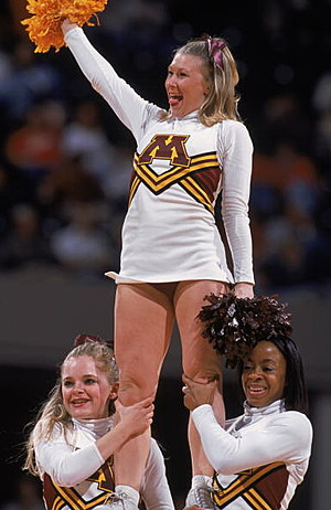 Minnesota Golden Gopher Cheerleaders